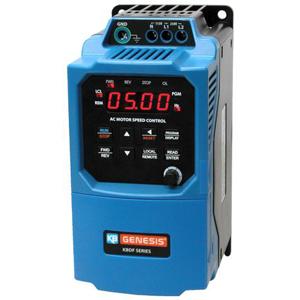 1/2HP KBDF-23D IP-20 VFD 115/230VAC 1PH INPUT KB 9673