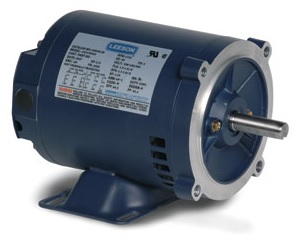 1HP LEESON 1760RPM 143TC DP 3PH MOTOR G121650.00