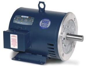 5HP LEESON 1760RPM 184TC DP 3PH MOTOR G130327.00