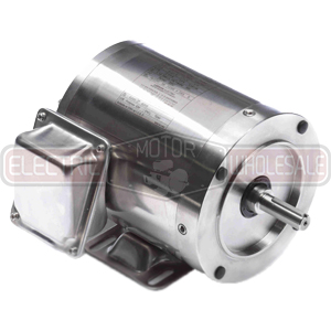 1/2HP LEESON 1200RPM 56C TENV 3PH MOTOR 191414.00