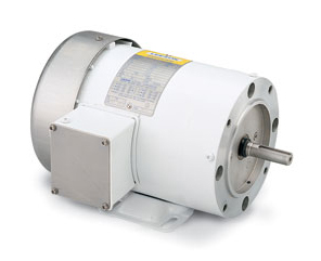 1/2HP LEESON 3450RPM 56C TENV 3PH MOTOR 113588