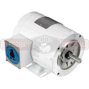 3/4HP LEESON 1200RPM 56HC TENV 3PH MOTOR 115744.00