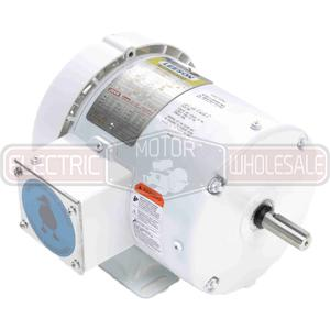 1/2HP LEESON 1800RPM 56 TEFC 3PH MOTOR 112427.00