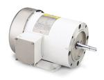1HP LEESON 1745RPM 143JM TEFC 3PH PUMP MOTOR G121579