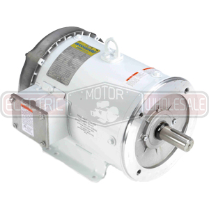 5HP LEESON 1800RPM 184TC TEFC 3PH MOTOR 132201.00