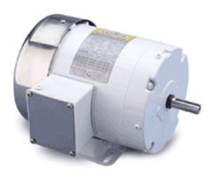 1HP LEESON 1725RPM 56 TEFC 3PH MOTOR 112627