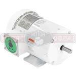 5HP LEESON 3600RPM 184T TEFC 3PH MOTOR 132202.00