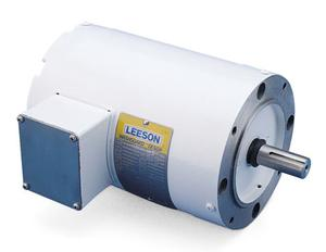 1/2HP LEESON 3450RPM 56C TENV 3PH MOTOR 116643