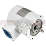 1/2HP LEESON 3600RPM 56C TENV 3PH MOTOR 116643.00