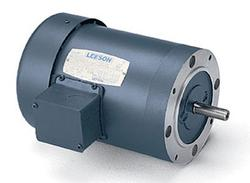 1HP LEESON 2850RPM 56C TEFC 3PH MOTOR 114895