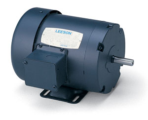 1HP LEESON 2850RPM 56 TEFC 3PH MOTOR 114308