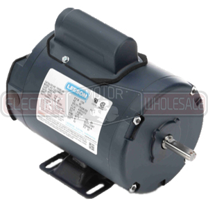 1/2HP LEESON 3450RPM 48 TENV 1PH MOTOR 100366.00