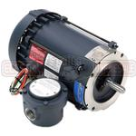 1/2HP LEESON 3450RPM 56C EPFC 1PH MOTOR 111098.00