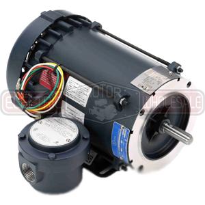 1/2HP LEESON 3450RPM 56C EPFC 1PH MOTOR 116608.00