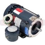 3/4HP LEESON 3450RPM 56C EPFC 3PH MOTOR 114629.00