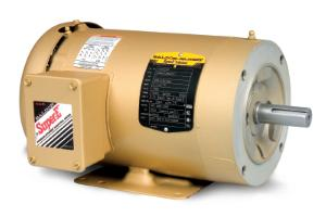 1HP BALDOR 1760RPM 56C TEFC 3PH MOTOR CEM3546