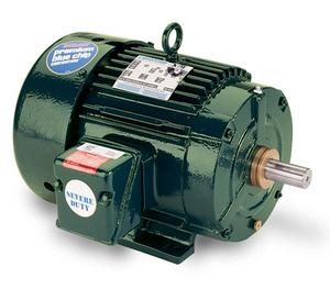 10HP LEESON 1765RPM 215T TEFC 3PH MOTOR 811553