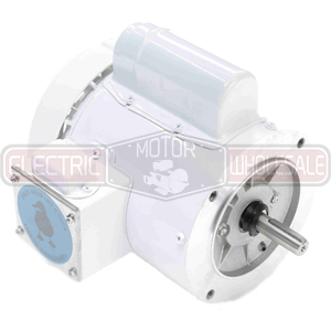 1HP LEESON 3450RPM 56C TEFC 1PH MOTOR 114316.00