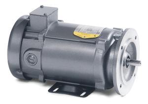 1HP BALDOR 1750RPM 80D TEFC 180VDC MOTOR VP3458D