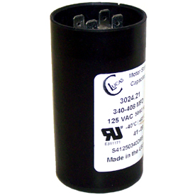 003018.04 LEESON START CAPACITOR 285MFD 115VAC