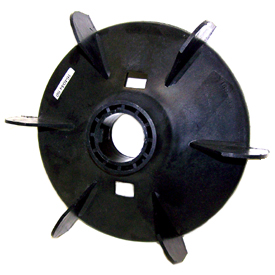 Leeson external plastic cooling fan for Plastic fan blades for electric motors