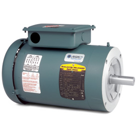 5HP BALDOR 1750RPM 184TC TEFC 3PH MOTOR VEUHM3615T-G