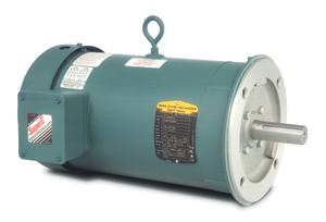 5HP BALDOR 1750RPM 184TC TEFC 3PH MOTOR VEUHM3615T