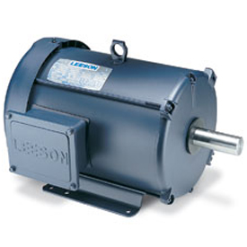 2/1HP LEESON 1740/860RPM 184T TEFC 208-230V 3PH MOTOR 131473