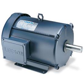 1.5/.37HP LEESON 1725/850RPM 145T TEFC 208-230V 3PH MOTOR 120947