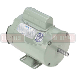 1HP LEESON 3450RPM 56Z TENV 1PH MOTOR 111333.00