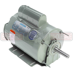 3/4HP LEESON 1075RPM 56HZ TEAO 1PH MOTOR 111322.00