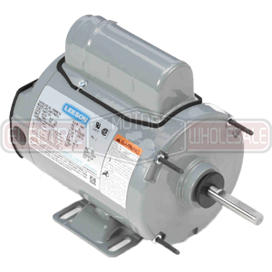 1/3HP LEESON 1140RPM 56Z TEAO 1PH MOTOR 100604.00