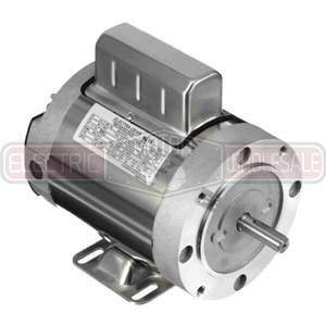 1.5HP LEESON 1800RPM 56C TENV 1PH MOTOR 6439191253
