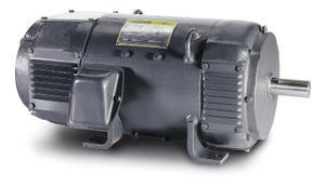 15HP BALDOR 1750RPM 258AT DPFG 240VDC MOTOR D2015P
