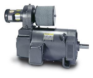 50HP BALDOR 1750RPM 328AT DPBV 240VDC MOTOR D2050P-BV