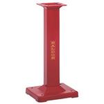 "BALDOR 6""-10"" INDUSTRIAL RED CAST IRON PEDESTAL GA16R"