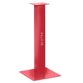 "BALDOR 6""-7"" INDUSTRIAL RED STEEL PEDESTAL GA16RE"