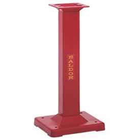 "BALDOR 8"" INDUSTRIAL STEEL RED PEDESTAL GA20RE"