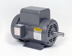 7.5HP BALDOR 3450RPM 213T ODTF 1PH MOTOR L1509T