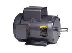 7.5HP BALDOR 3450RPM 213T TEFC 1PH MOTOR L3709T