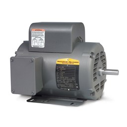 10HP BALDOR 3450RPM 215T OPEN 1PH MOTOR L1511T