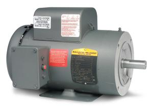 5HP BALDOR 3450RPM 184TC TEFC 1PH MOTOR CL3608TM