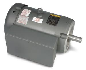 5HP BALDOR 1725RPM 184TC TEFC 1PH MOTOR CL3612TM
