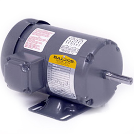 1/6HP BALDOR 1140RPM 48 TEFC 3PH MOTOR M3452