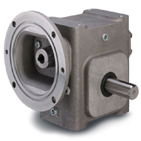 ELECTRA-GEAR EL-BMQ818-50-D-48 ALUMINUM RIGHT ANGLE GEAR REDUCER EL8180249