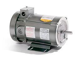 1/2HP BALDOR 1750RPM 56C TEFC 180VDC MOTOR CD3451