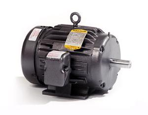 15HP BALDOR 1760RPM 254T TEFC 1PH MOTOR L1177T