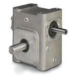 ELECTRA-GEAR EL-B818-7.5-L ALUMINUM RIGHT ANGLE GEAR REDUCER EL8180002