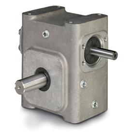 ELECTRA-GEAR EL-B821-7.5-L ALUMINUM RIGHT ANGLE GEAR REDUCER EL8210002