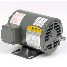 1HP BALDOR 1725RPM 56 OPEN 3PH MOTOR M3116